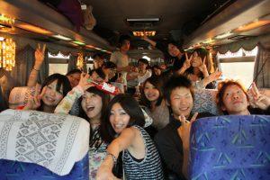合宿送迎貸切バス